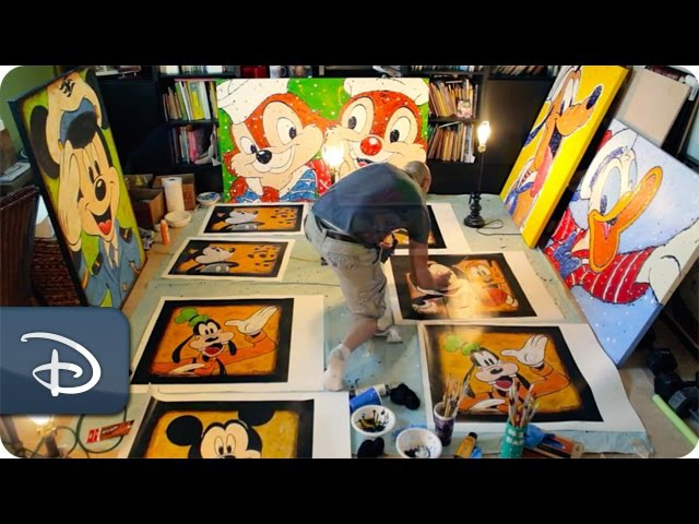 Self-Taught Artist Inspires at Walt Disney World Resort