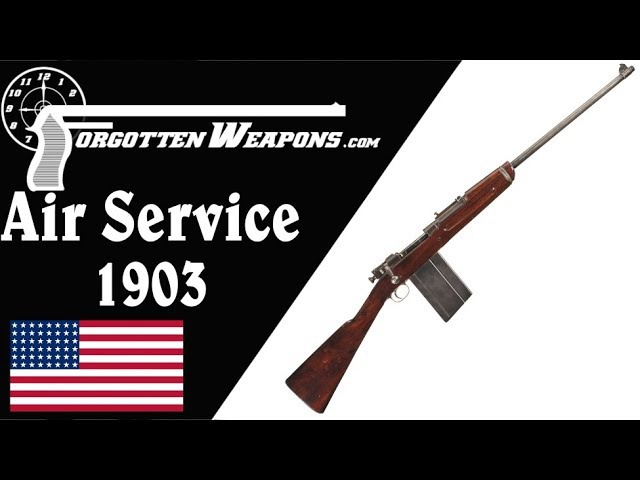 M1903 Springfield - Stripped for Air Service