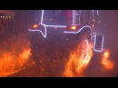 Шоу огнедышащих тракторов в Минске