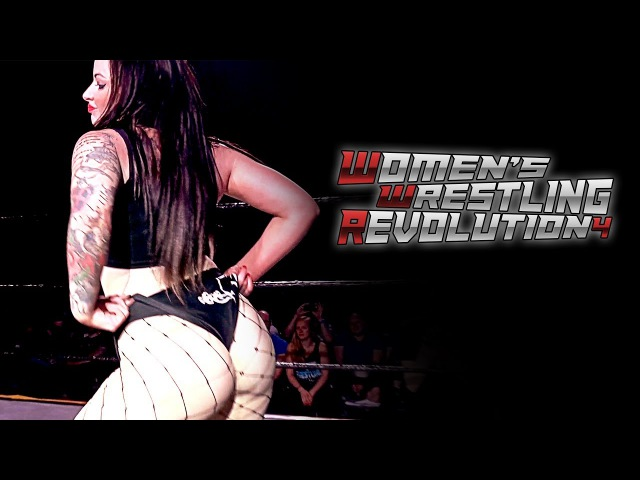 Lana Austin vs Xia Brookside WWR Tournament Qualifying Match GWF Women's Wrestling Revolution 4
