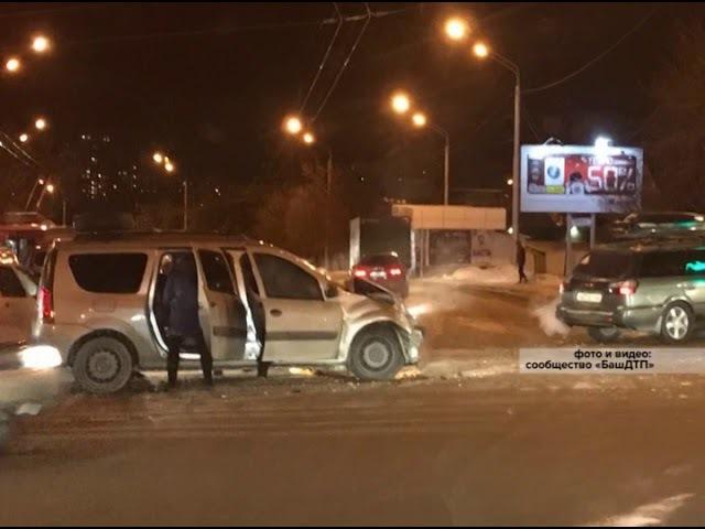 Серьезная авария с пострадавшими произошла сегодня утром в Уфе