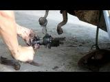 запорожец замена вкладышей шаровых опор и тормозных колодок на запорожце