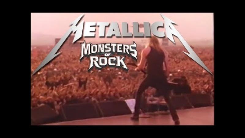Metallica Monsters of Rock 1991