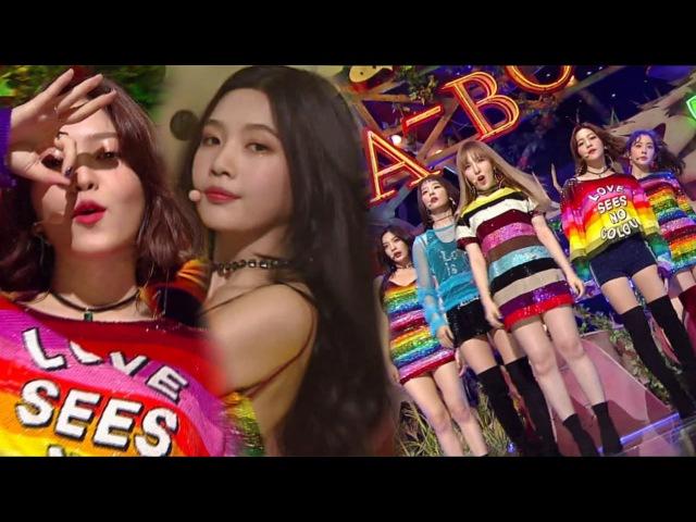 《Comeback Special》 Red Velvet(레드벨벳) - Peek-A-Boo(피카부) @인기가요 Inkigayo 20171119