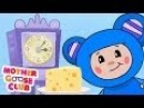 Hickory Dickory Dock - Mother Goose Club Rhymes for Kids