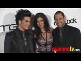 ADAM LAMBERT 'Glitters' at GRIDLOCK 2010 New Year's Eve Bash at Paramount Studios