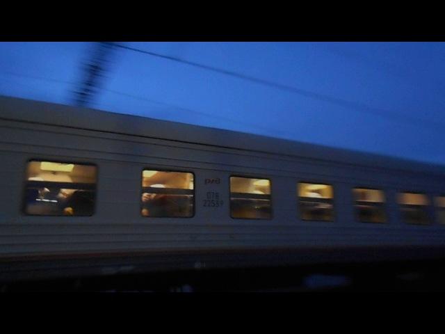 ЭП2К-070 со скорым поездом №291Е Екатеринбург — Казань