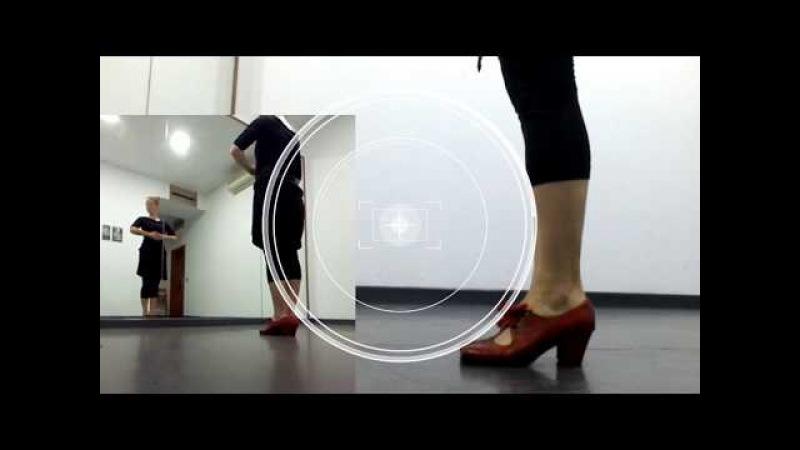 Tabla de pies. Подготовка к резиденции Фламенко 2018. BarrioFlamencoOnline