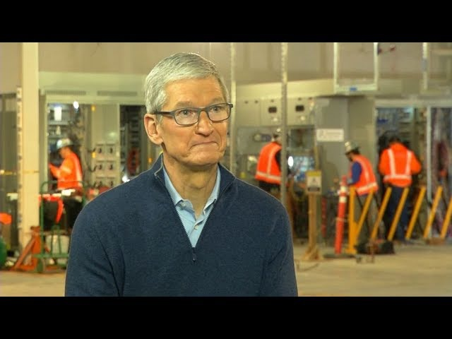 ABC World News Tonight 01/17/18 - 'We want to help America,' Apple CEO Tim Cook says of moving...