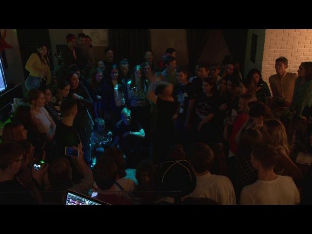 Double V Fest vol.2 All Styles Battle Zatey vs Dima LEVEL up(win)