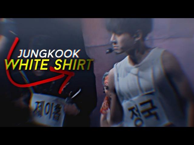 Jungkook ✧ White shirt
