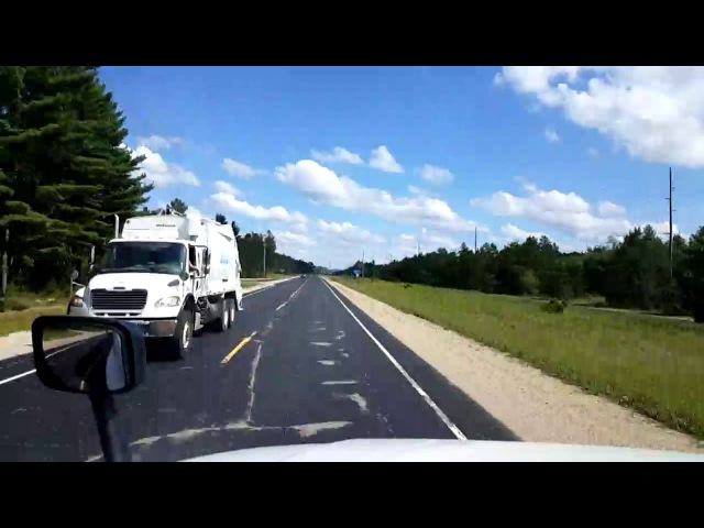 Bigrigtravels Live! Richland Center, Wisconsin to Hampshire, Illinois August 8, 2016