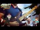 Gravity Falls Metal Cover