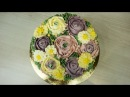 Торт с Шоколадными Цветами ( Торт «Колибри» Ч.2 ) - Я - ТОРТодел!