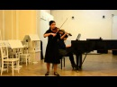 Конкурс Nota bene!. Елизавета Захарова. 15 лет. скрипка. Лауреат 1 степени