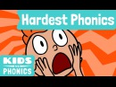 Top 8 Hardest English Phonics | Difficult English Sounds | Made by Red Cat Reading