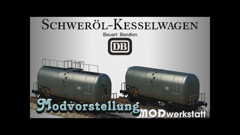 Transport Fever - Schweröl Kesselwagen [Modvorstellung]