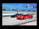 Ferrari Challenge - new 488 Challenge cars based on 488 GTB FLY BY at HOMESTEAD-MIAMI SPEEDWAY
