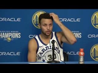 Stephen Curry Postgame Interview / GS Warriors vs Bulls / Nov 24
