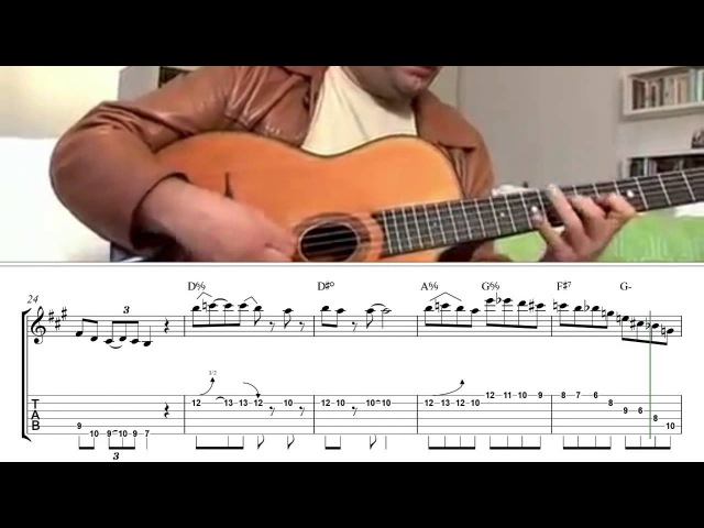 Bireli Lagrene Thomas Dutronc - Django's Tiger ( Bireli Lagrene solo transcription )