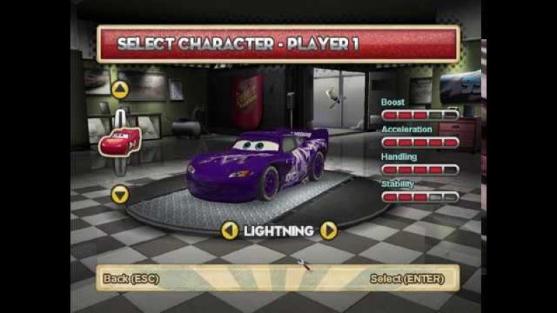 Cars SuperDrive: Lightning's ROR paintjobs by MSR2003