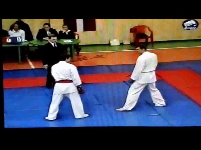 Такого вы точно не видели, только в кино(железная метла ) применил на международном турнире по кара.
