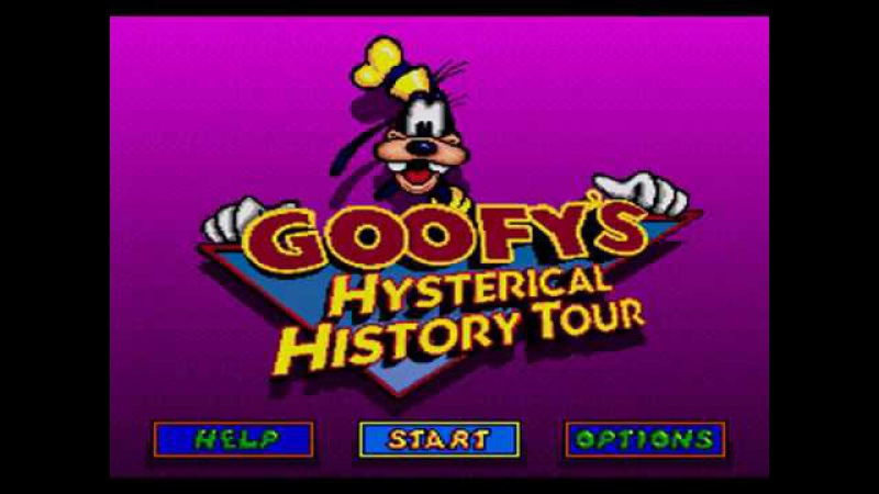 Goofy's Hysterical History Tour SEGA