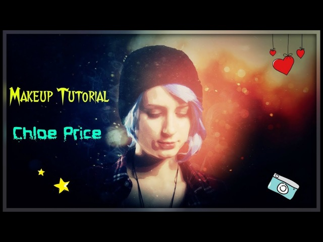 😳Chloe Price Makeup Tutorial. 💀Life is Strange. [SUGAR KANE] Режиссерская версия.