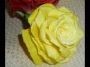 розы из мастики мастер класс часть 1