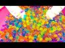 Челлендж Орбиз новый Ищем игрушки в орбизах шарики Гидрогель для детей и игры Сhallenge Orbeez