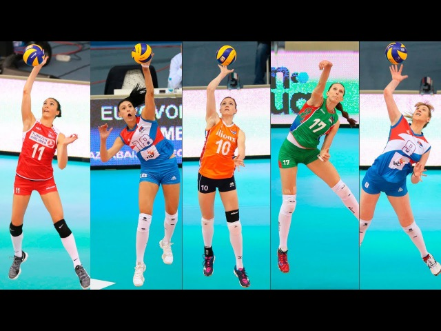 Top 20 BEST Volleyball ACES | Women's EUROVOLLEY 2017