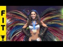 ANDREIA BRAZIER VS JEN JEWELL AT WBFF WORLDS 2013