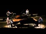 Денис Мажуков и Даниил Крамер играют по-очереди на рояле на концерте Jazz-n-roll в Киров