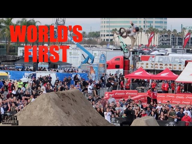 WORLD'S FIRST NEW BMX TRICK!