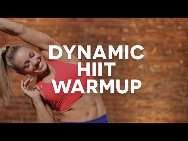 KaisaFit's Dynamic Warmup for HIIT Workouts High Intensity Interval Training