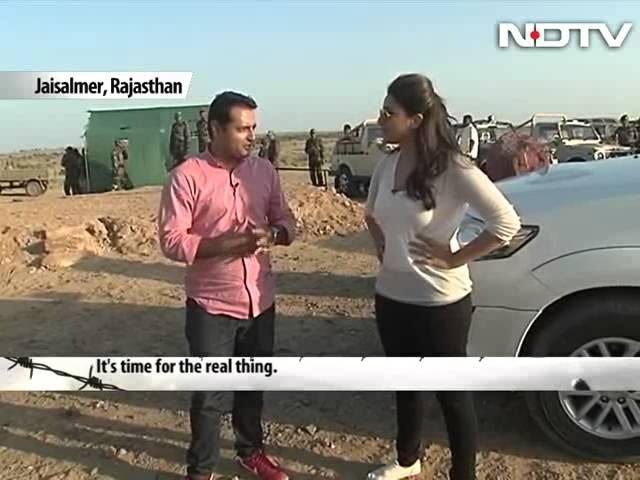 Jai Jawan: Parineeti Chopra rides a tank