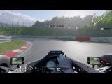 Gran Turismo Sport: Formula F1500T - Nurburgring 24h with gamepad