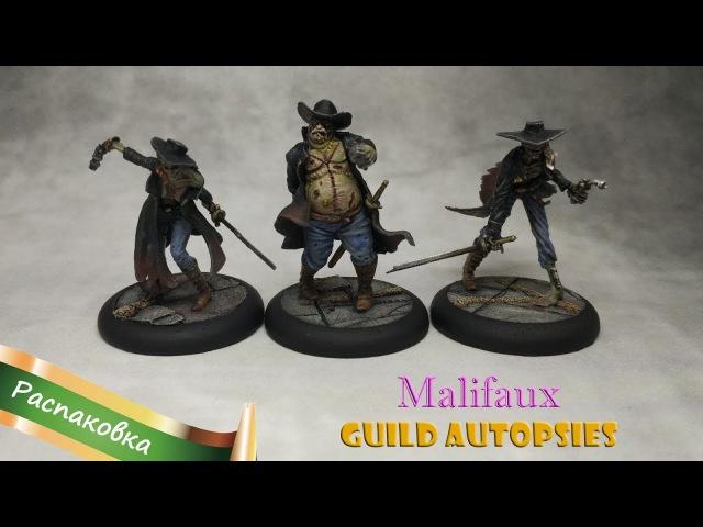 Rep-UnboxRep Malifaux - Guild Autopsies