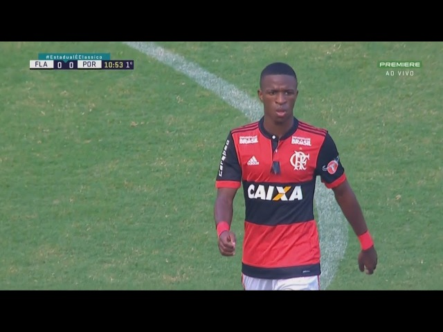 Vinícius Júnior vs Portuguesa HD 1080i (18/03/2018)