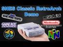 SNES Mini RetroArch Sega Genesis Neo Geo GBA NES FBA N64 Running On The SNES Classic