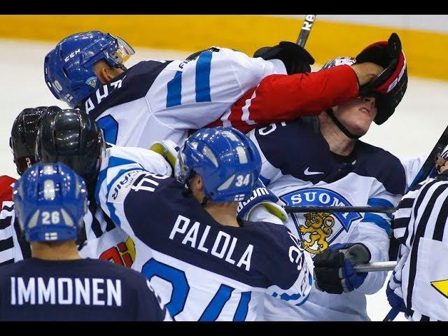 MM 2014 Suomi - Kanada | Viimeiset 4 minuuttia Huh Huh