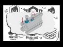 3D печать Т образной гайки на китайском 3D принтере Закрытый тип корпуса принтера