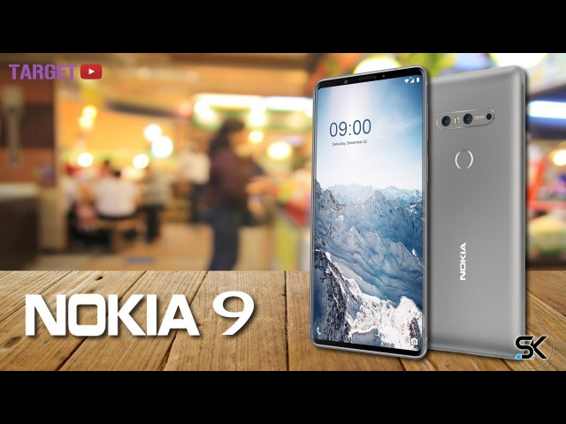 Nokia 9 (2018) Final Design Trailer with 5.7-inch Infinity Display, Specifications