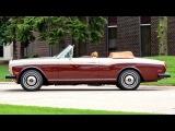 Mulliner Park Ward Rolls Royce Corniche Drophead Coupe '1978