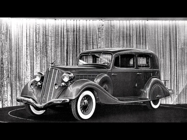 Hudson DeLuxe Country Club Eight Brougham Series HUL 1935