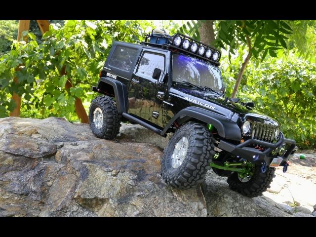 Axial SCX10 Jeep Wrangler Rubicon - HD(1080p)