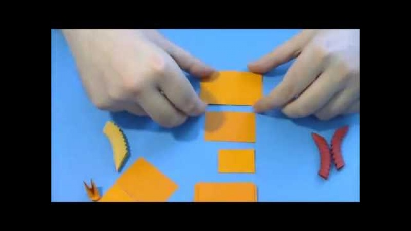 Cum se fac piesele 3d origami (How to make 3d origami pieces)
