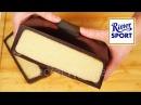 Огромная шоколадка РИТТЕР СПОРТ С МАРЦИПАНОМ Как сделать МАРЦИПАН Ritter Sport marzipan