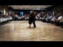 Blanquita y El Puchu festejando los 93 años bailando una MILONGA