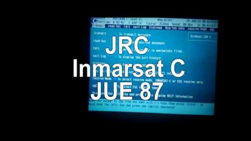 How to do Ship to Ship Test - Inmarsat C